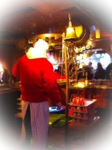 Hat der Weihnachtsmann den Punsch hier gar selber zubereitet?